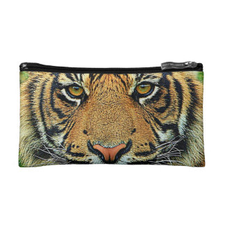 Tiger Graphic Image Makeup Bags
