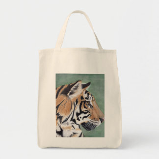 Tiger Grocery Tote Bag