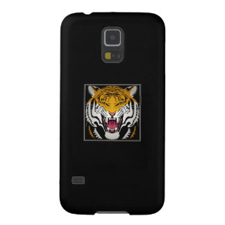 Tiger Head Case For Galaxy S5