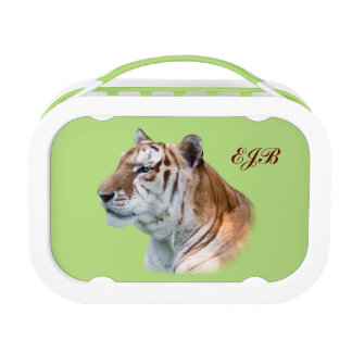 Tiger Head Customizable Monogram Lunchboxes