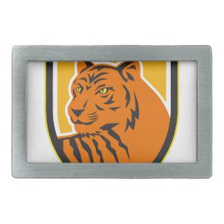 Tiger Head Front Crest Retro Belt Buckles