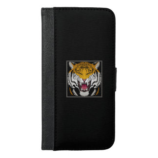 Tiger Head iPhone 6/6s Plus Wallet Case