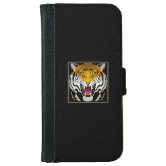 Tiger Head iPhone 6 Wallet Case