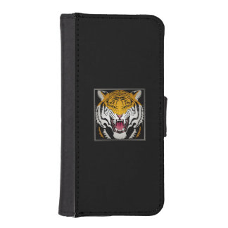Tiger Head iPhone SE/5/5s Wallet Case