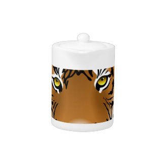Tiger Head Print Design