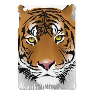 Tiger Head Print Design iPad Mini Cases