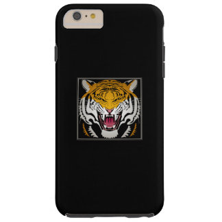 Tiger Head Tough iPhone 6 Plus Case