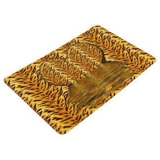 Tiger Heart Floor Mat