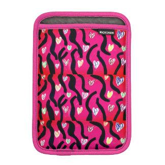 Tiger heart iPad mini sleeve