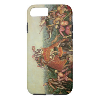 Tiger Hunt, 1892 (oil on canvas) iPhone 7 Case
