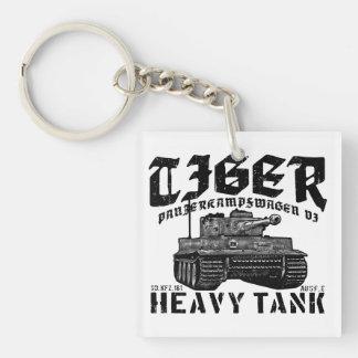 Tiger I Acrylic Keychain