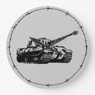 Tiger II Acrylic Wall Clock