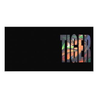 Tiger II Photo Card