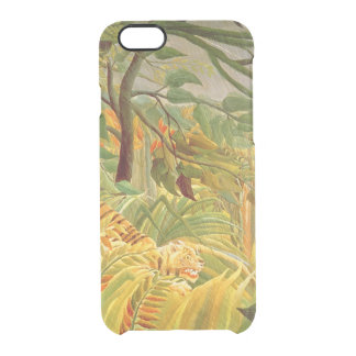 Tiger in a Tropical Storm  1891 Clear iPhone 6/6S Case