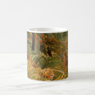 Tiger in a Tropical Storm by Henri Rousseau Coffee Mug