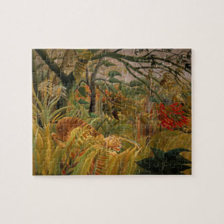 Tiger in a Tropical Storm by Henri Rousseau Jigsaw Puzzle