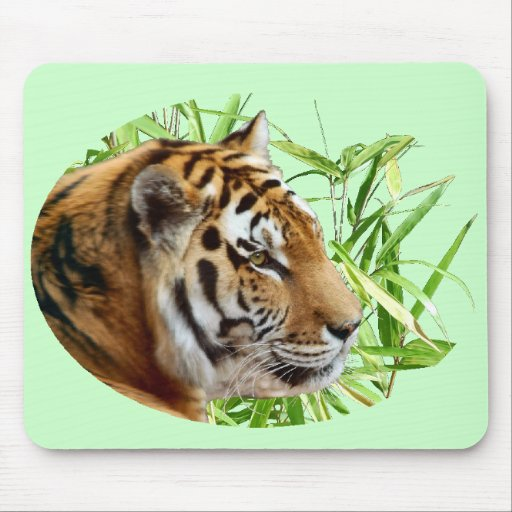 TIGER IN BAMBOO MOUSE MAT