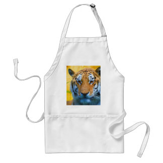Tiger in the Bamboo - Painting Standard Apron