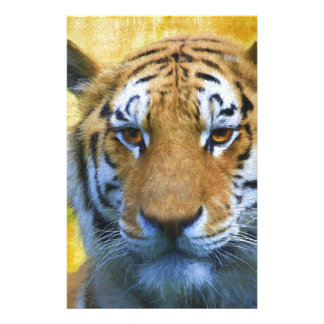 Tiger in the Bamboo - Painting Stationery
