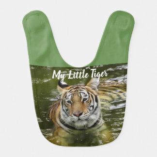 Tiger in the Water Bib