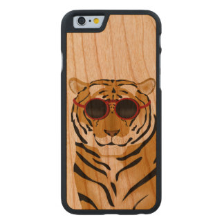 Tiger iPhone 6/6s Bumper Cherry Wood Case