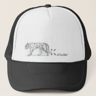 Tiger Kcigar logo Trucker Hat