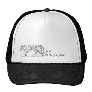 Tiger Kcigar logo Trucker Hat