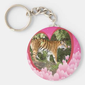 Tiger Keychain