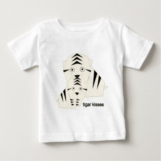 tiger kisses baby T-Shirt