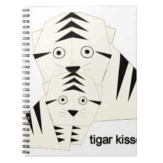 tiger kisses notebooks