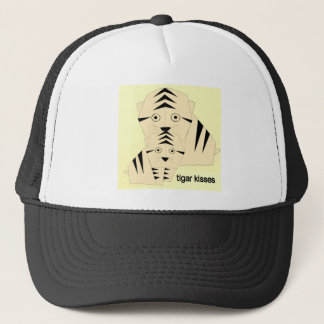 tiger kisses trucker hat