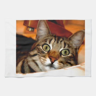 Tiger Kitty Kitchen Towel