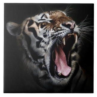 "Tiger Large (6"" X 6"") Tile"