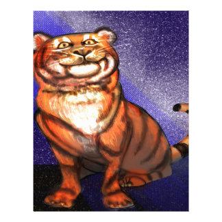 Tiger Letterhead