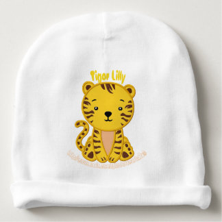 """Tiger Lilly"" Baby Beanie"