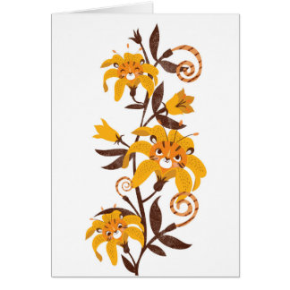 """""""Tiger""""lily Card"""