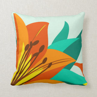 Tiger Lily  Design Pillows