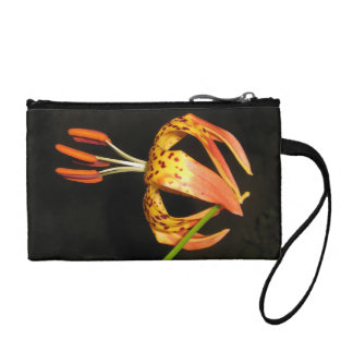 Tiger Lily Key Coin Clutch Change Purses