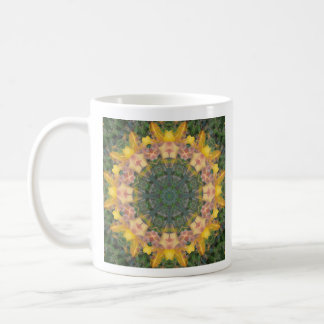 Tiger Lily Mandala Coffee Mug