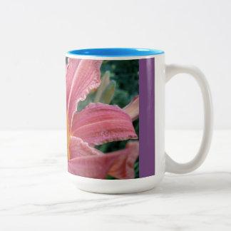 Tiger lily mug