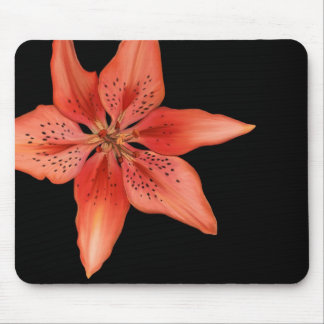 Tiger Lily Painting Mouse Pad