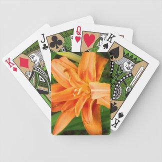Tiger Lily Poker Deck