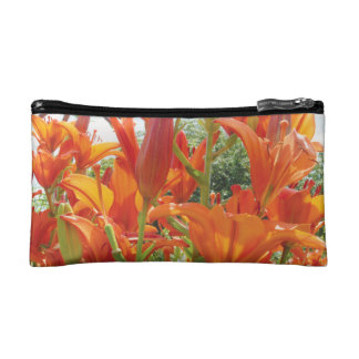 Tiger Lily Purse Cosmetic Bag