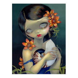 """Tiger Lily, Tiger Nautilus"" Postcard"