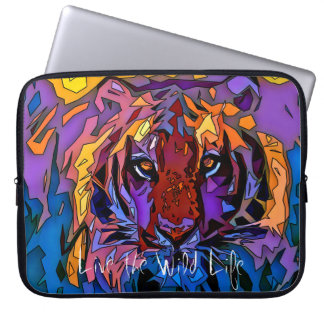 Tiger - Live the Wild Life / Laptop Sleeve