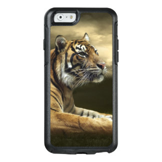 Tiger looking and sitting under dramatic sky OtterBox iPhone 6/6s case