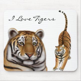 Tiger Love Mousepad