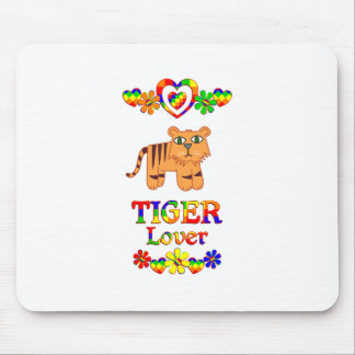Tiger Lover Mouse Pad