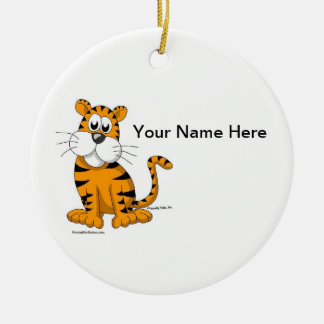 Tiger - Male Ceramic Ornament