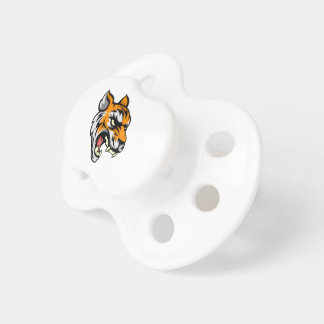 Tiger Mean Animal Mascot Baby Pacifiers